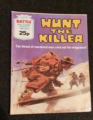 Battle  Picture  Library    No  1611   Hunt  The  Killer