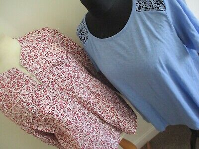 Bundle 4 Ladies Tops Size 20 Exc Cond Spring/summer/hols