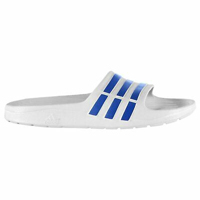 562f564f8af adidas Kids Boys Duramo Slide Flip Flops Pool Shoes Slip On Sandals  Lightweight