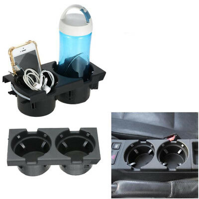 1pcFront Console Dual Drink Cup Holder Für BMW E46 3 Series 99-05 P3B5 Universal