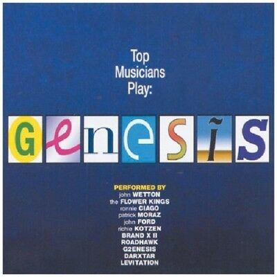 Top Musicians Play Genesis CD NEW SEALED John Wetton/Patrick Moraz/John Ford+