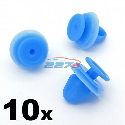 10x Blue Interior Trim Panel, Tailgate & Boot Lining Trim Clips, Citroen 6991Z1