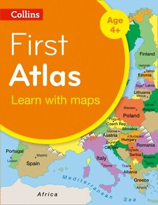 Collins First Atlas (Collins Primary Atlases) (Paperback), Collin...