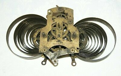 Antique ANSONIA (USA) Clock Movement, Spares/Repair