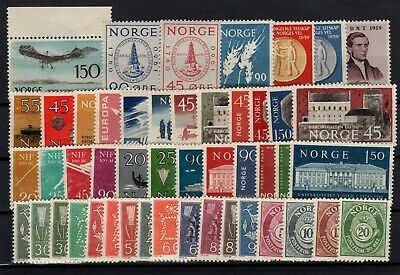 P104531 / Norvege / Norway / Lot 1959 - 1962 Neuf ** / Mnh 128 €