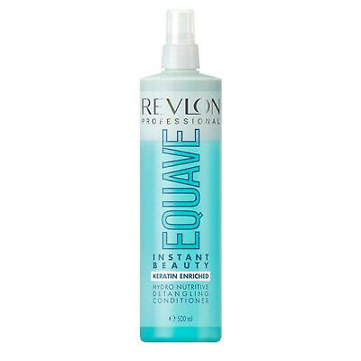 2 x Revlon Equave 2 Phase Keratin Enriched Instant Beauty Hydro Nutritive 500ml