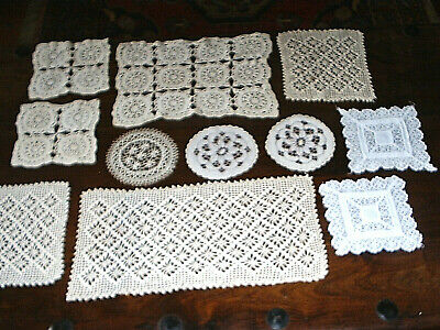 Vintage Crochet Doily Assortment