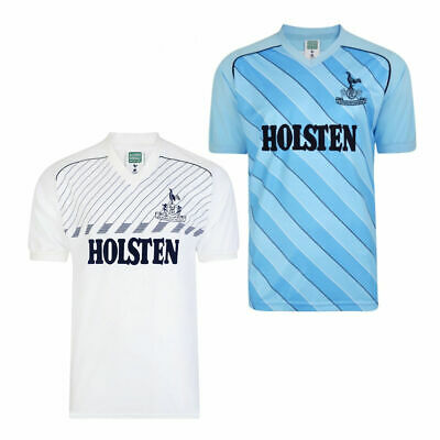 73673b40025 Mens Score Draw Licensed Replica 1986 Tottenham Hotspur Retro Football Shirt