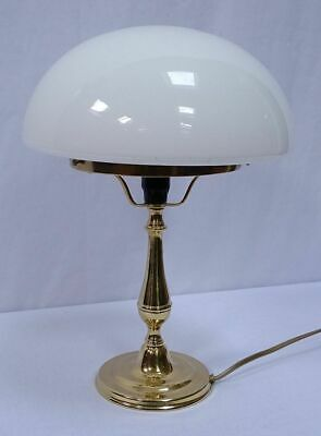 G1056: Rustic Mushroom Lamp,Table Lamp, Desk Lamp Polished Brass