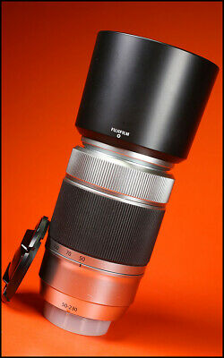 Fuji 50-230mm F4.5-6.7 XC OIS Lens Sold  With Front & Rear Caps, & Hood