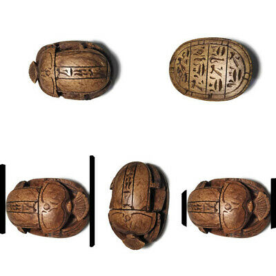 Egypt Scarab Ancient Egyptian Antique stone  Beetle Scarabs Carved Stone