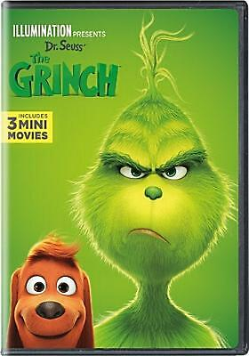 Dr. Seuss' the Grinch - DVD Region 1 Free Shipping!