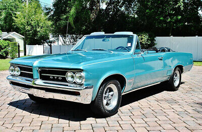 1964 Pontiac Le Mans  1964 Pontiac GTO Tribute Convertible sweet four speed must be seen stunning