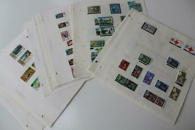 FIJI Fine Mint and Used Stamp Collection from 1963 to 1982
