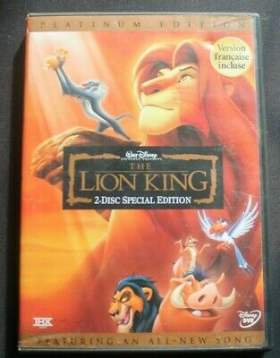 The Lion King DVD Platinum Edition 2-Disc Set