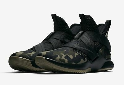6e80d02c16c Nike Lebron Soldier XII 12 SFG Mens Size 12.5 Basketball Shoes AO4054 001  Camo