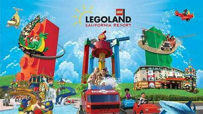 2-day LEGOLAND California + SEA LIFE Hopper + a Magic Memories Photo Pass