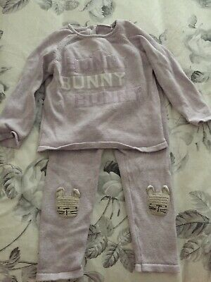 Next Baby Girl Bunny Outfit Easter 12-18 Months Great Condition