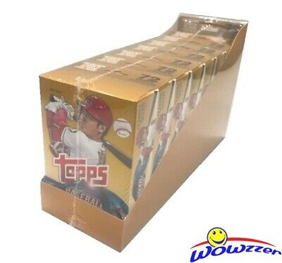 2018 Topps UPDATE Baseball EXCLUSIVE Hanger CASE-8 Factory Sealed Boxes-576 Card