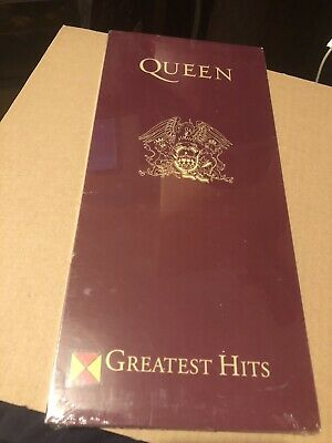 Queen Greatest Hits Very Rare 1992 Usa Longbox Factory Sealed Cd Usa Import