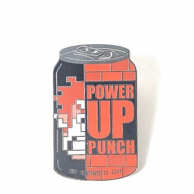 Delicious Drinks Wreck It Ralph Drink Soda Can Power Up Punch Disney Pin