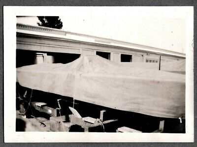 "Vintage Photograph 1930 A.p.b.a. Gold Cup Power Boat Racing ""hotsy-Totsy"" Photo"