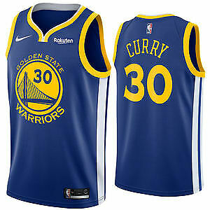 new products 65f05 8647b STEPHEN CURRY #30 Golden State Warriors Classic Blue Swingman NBA Jersey NEW