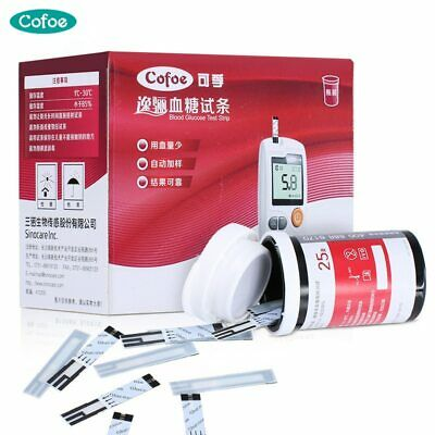 Cofoe Yili 50/100 Blood Glucose Test Strips with Lancets and Needles for