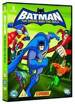 Batman - The Brave and the Bold: Volume 3 - DVD Region 2 Free Shipping!