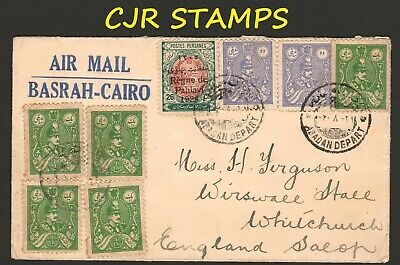 Iraq 1928  Air Cover   -    Basrah To England