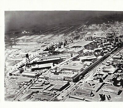 1929 Aerial View of MGM Studios, Washington Blvd.,Culver City (now Sony Studios)