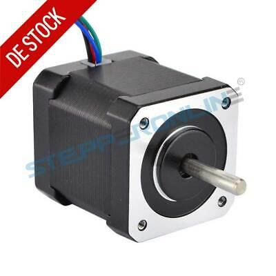 1PC Nema 17 Schrittmotor 59Ncm 2A 48mm 4-lead 1m Cable W/ Connector 3D Drucker