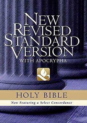 Bible: New Revised Standard Version Bible with Apocrypha Paperback Book The