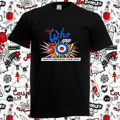 Limited !!! Neu The Who North American Tour 2016 T Shirt S-5XL