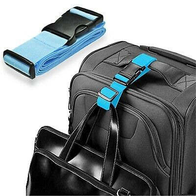 """Add a Bag Luggage Strap Adjustable Suitcase Belt Straps Accessories for16"""" ~ 32"""""""