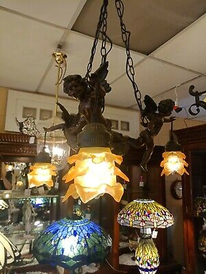 Cherub / Cupid Chandelier