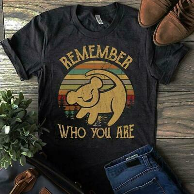 Limited !!! Neu Simba Remember Who You Are Vintage T Shirt S-5XL