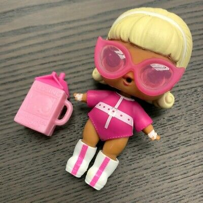 LOL Surprise Eye Spy DOLL Under Wraps series 4 Drag Racer toy Authentic!