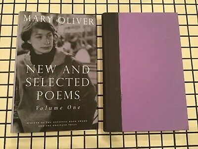 New and Selected Poems, Volume One by Oliver, Mary hardcover dj 1992 poetry exc!