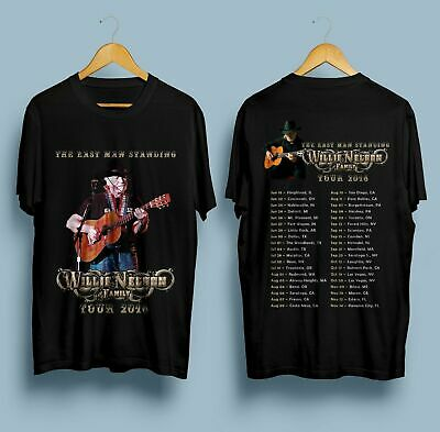 Limited !!! Neu Willie Nelson and Family Tour Dates 2018 T Shirt S-5XL