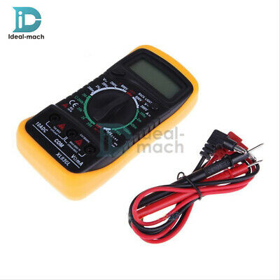 XL830L Digital LCD Multimeter Voltmeter Ammeter OHM AC DC VOLT Tester Checker