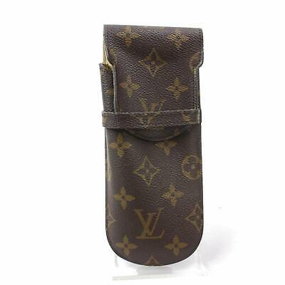 Authentic Louis Vuitton Eye Glasses Case Etui a Lunettes Rabat Monogram 363880