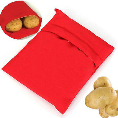 Microwave Bag Baked Potato Express Cookings Cookers Washable Kitchen Gadget Home