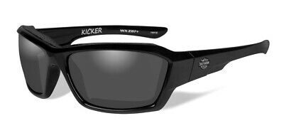 b8325a2b0931 HARLEY-DAVIDSON MEN'S KICKER Sunglasses, Smoke Gray Lens/Black Frame ...