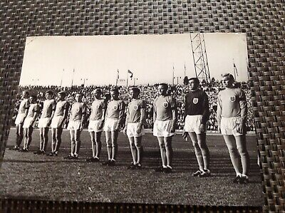 England 1966 Pre World Cup Original Press Photo Banks, Moore, Greaves