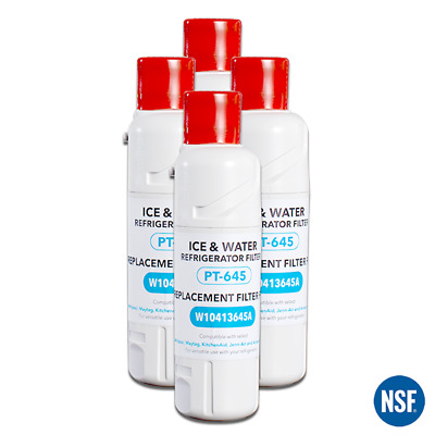 1/2/3/4PC PT-645 Refrigerator Water Filter 2 Replace Kenmore 46-9903 EDR2RXD1