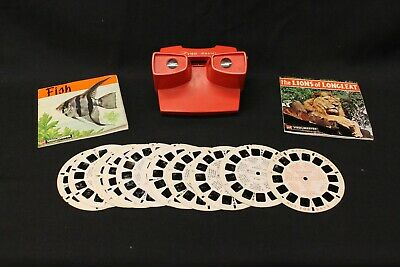 Vintage View Master with 14 Assorted Reels (878L)