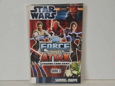 Star Wars Sammel-Mappe Force Attax Trading Card Game - Serie 3