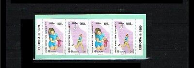 1989 - Europe CEPT Stampbooklet Turkish-Cyprus Mi.MH 2 - with 2x249-50C [A57_195