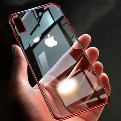 Transparent Bumper Shockproof Protective Case Clear Cover For iPhone XS Max XR X
